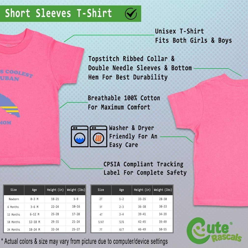 Custom Baby /& Toddler T-Shirt Worlds Coolest Aruban Mom Cotton Boy Girl Clothes