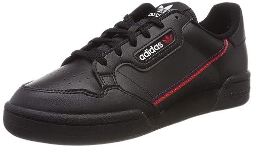 5059bf367 adidas Continental 80 J, Scarpe da Fitness Unisex-Adulto, Nero  (Negbás/Escarl/Maruni 000), 38 2/3 EU: Amazon.it: Scarpe e borse