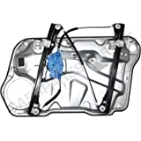 VW GOLF IV MK4/BORA FRONT RIGHT DRIVER SIDE ELECTRIC WINDOW REGULATOR WITH PANEL