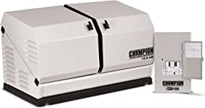 Champion 12.5-kW Home Standby Generator with 100-Amp Indoor-Rated Automatic Transfer Switch