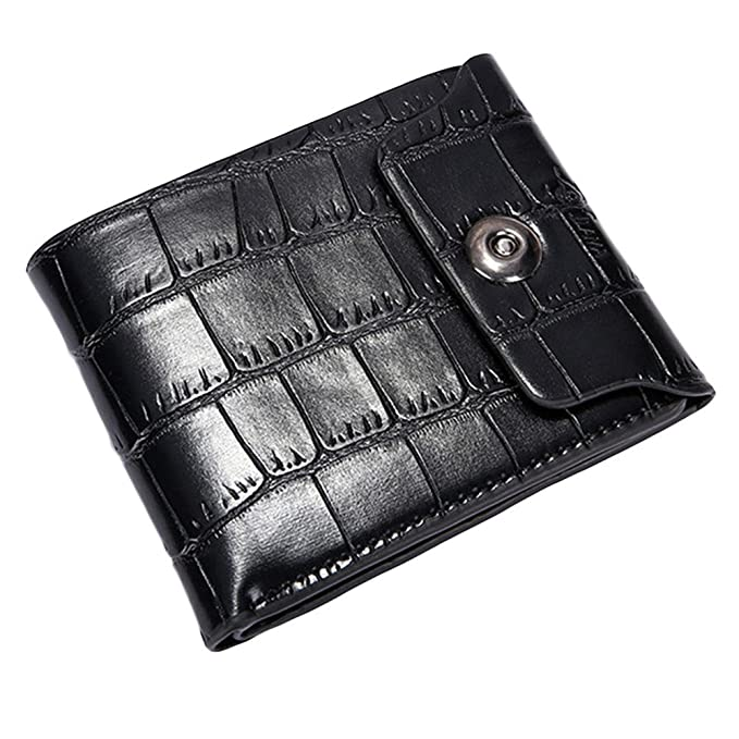 Colorido Men Faux Leather Bifold Wallet Credit ID Card Holder Slim Coin Bag