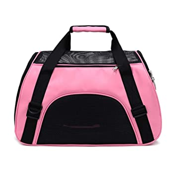 Amazon.com: Bolsa transportadora portátil para mascotas ...
