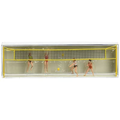 Preiser 10528 Recreation & Sports Beach Volleyball Players Package(11) HO Model Figure: Toys & Games