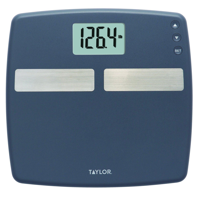 Capacity Digital Body Composition Analyzer Bath Scale Gray Taylor 400 Lb