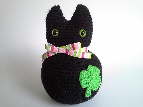 Amigurumi Black Cat — Free crochet pattern – Tillysome | 375x500