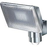 Brennenstuhl Power LED-Strahler/LED-Leuchte mit Aluminium-Gehäuse für außen und innen mit Bewegungsmelder (IP44 geschützt, stoßfest und drehbar)