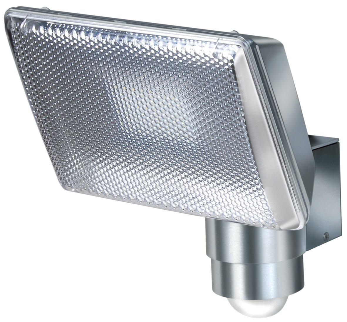 Brennenstuhl Power LED-Strahler / LED-Leuchte mit Aluminium-Gehäuse für außen und innen mit Bewegungsmelder (IP44 geschützt, stoßfest und drehbar) [Energieklasse A] stoßfest und drehbar) 1173350