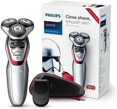 Philips SW5710/47 Máquina de afeitar, Negro, Rojo, Blanco: Amazon.es: Hogar