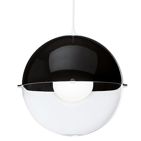 Koziol Hanglamp Orion.Koziol Orion Hanging Lamp Transparent Solid Black