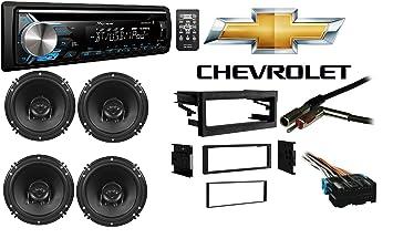 Amazon chevy tahoe  single din stereo harness radio