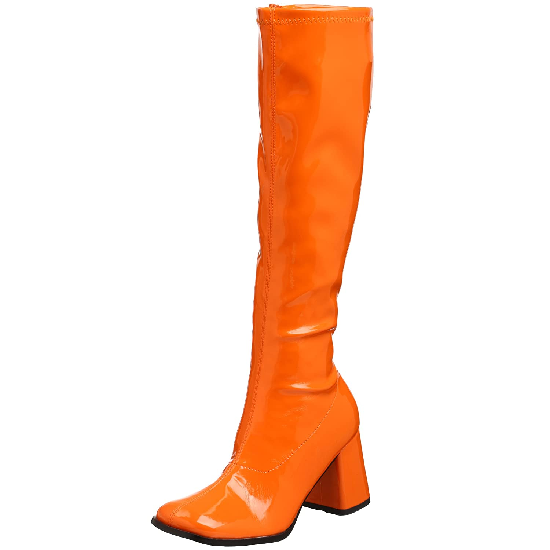 Pleaser Gogo300/yl, Damen Stiefel  43 EU|Orange