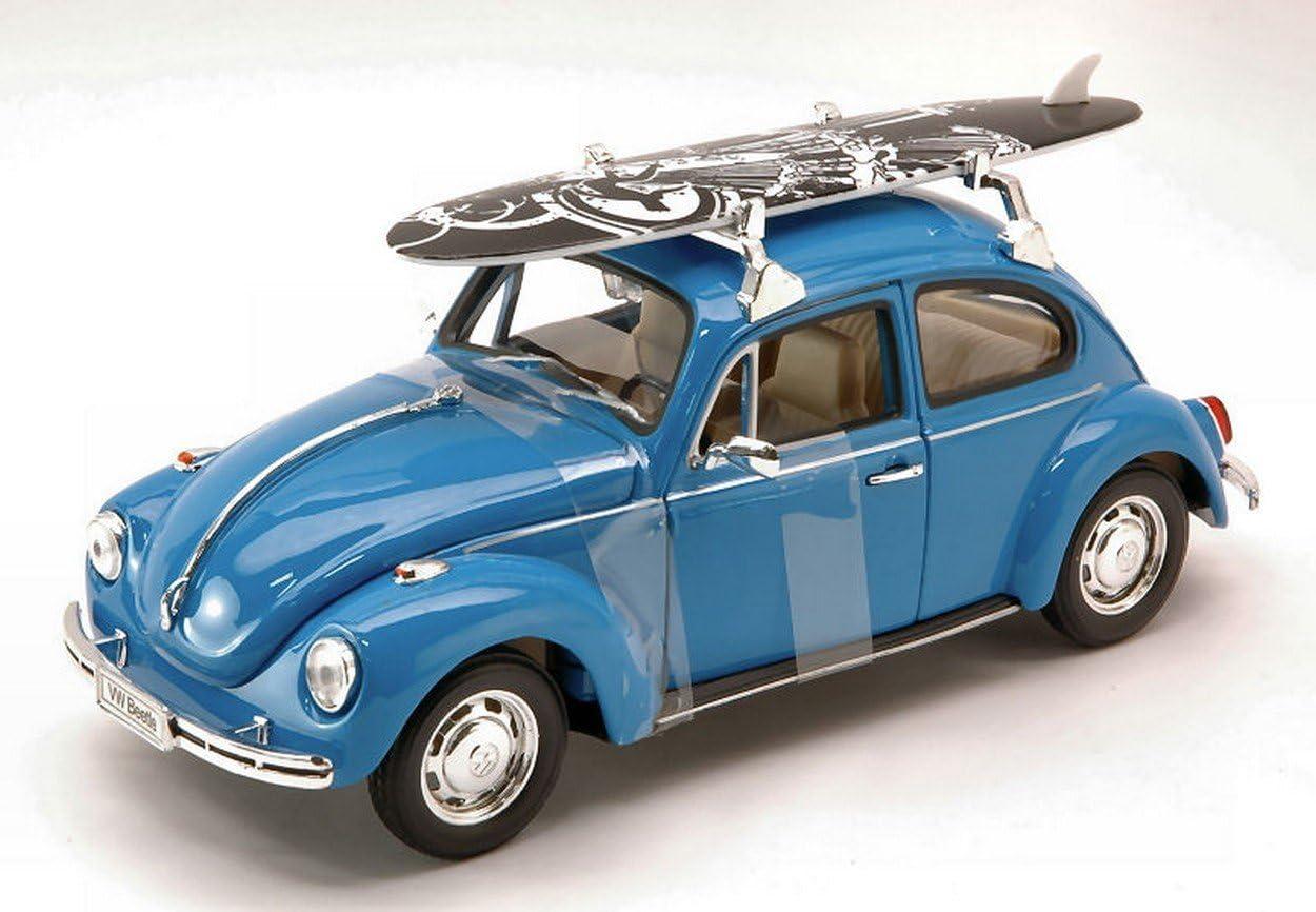 Die Cast Model Scale 1:24 VW Volkswagen BEETLE 1959 Welly Green