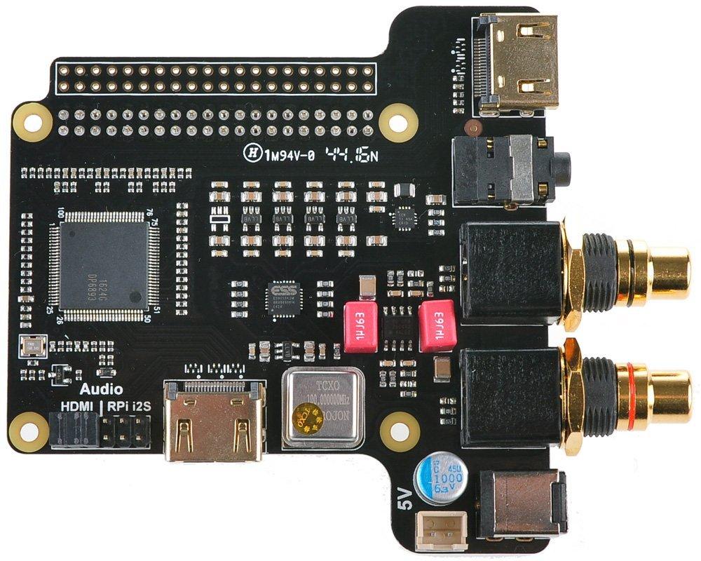 WINGONEER WX4000 Multifunction Expansion Shield for Raspberry Pi 1 Model B+/ 2 Model B / 3 Model B