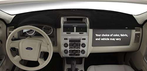 DashMat Original Dashboard Cover Land Rover Discovery Premium Carpet, Black