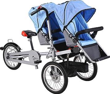 Mishow, MBTS01 - Bicicleta con silla para bebé, 16 pulgadas ...