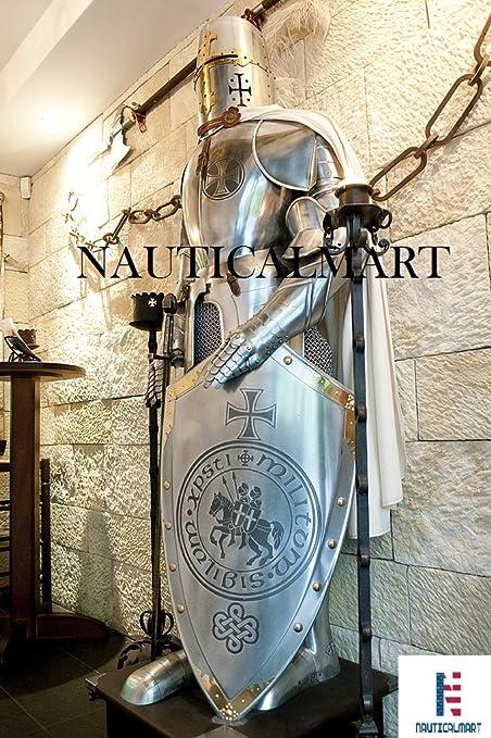 Amazon.com: Medieval - Disfraz de cruzador de caballero para ...