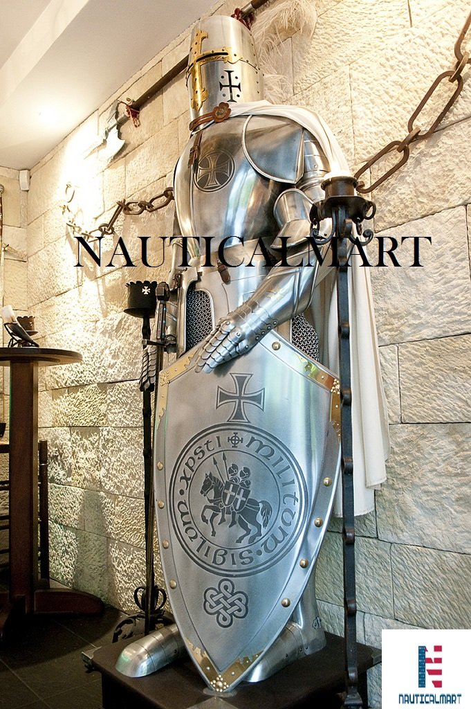 Medieval Wearable Knight Crusader Full Suit of Armor Costume by NAUTICALMART (Image #1)