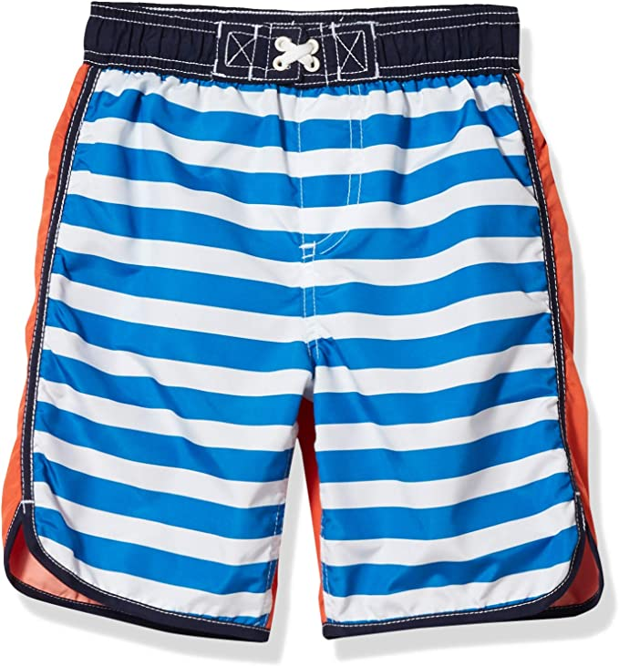 iXtreme Boys Toddler Swim Trunks Quick Dry Board Shorts Mesh Lining