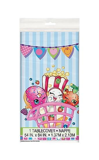 Shopkins Plastic Tablecloth, 84u0026quot; X 54u0026quot;