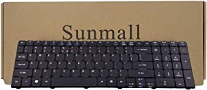 SUNMALL Laptop Keyboard Replacement Compatible with Acer Aspire for Aspire 5250 5251 5253 5336 5551 5552 5560 5733 5733z 5736Z 5738Z 5740 5741 5742 5750 5750G 5810 7741 7551 Series US Layout