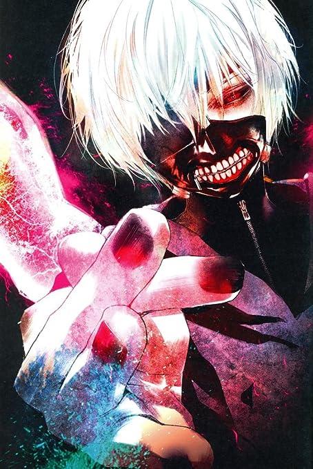 Amazoncom Xxw Artwork Tokyo Ghoul Kaneki Ken Poster One