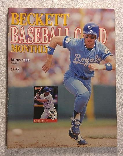 Kevin Seltzer Kansas City Royals Beckett Baseball Card