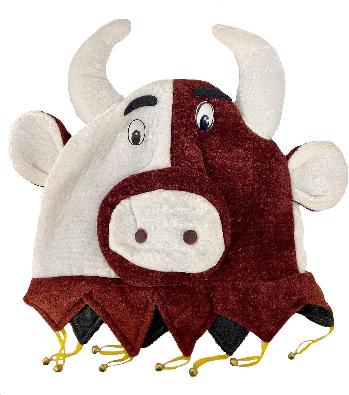 EL CARNAVAL Sombrero Toro - Gorros Animales: Amazon.es: Hogar