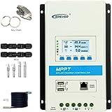 最新のMPPT 30aソーラー充電コントローラ、12V 24V TRIRON 3210Nインテリジェントレギュレータ、デュアルUSBポートPCソフトウェアMoblie APPモジュール式[トレーサA/ANシリーズの最新バージョン]