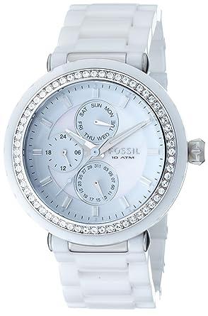Fossil Ladies Sport CE1008 - Reloj para mujeres, correa de cerámica: Fossil: Amazon.es: Relojes