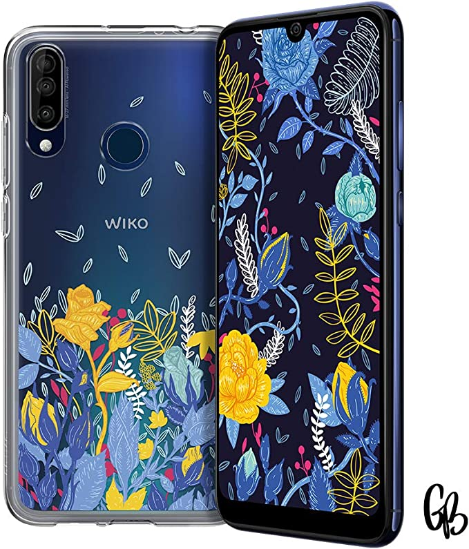 """WIKO View3 Special Edition FLOWER – Smartphone 6,26"""" HD+ (Triple ..."""