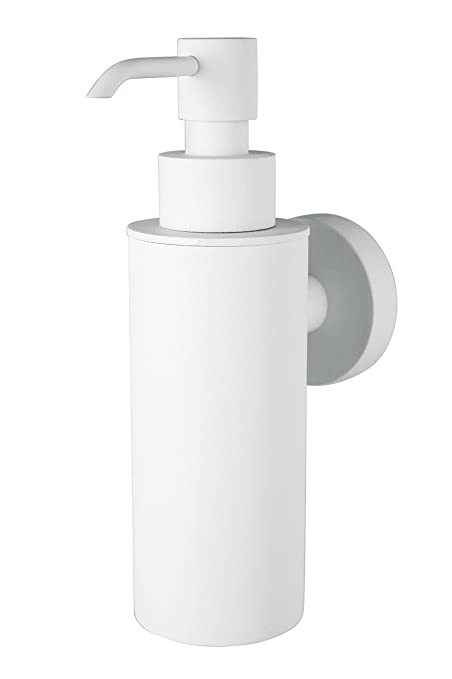 Haceka 1142259 Kosmos Dispensador de jab/ón met/álico color negro