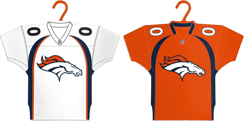 2-Pack NFL Denver Broncos Home /& Away Jersey Ornament