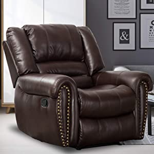 Canmov Traditional Manual Recliner Chair