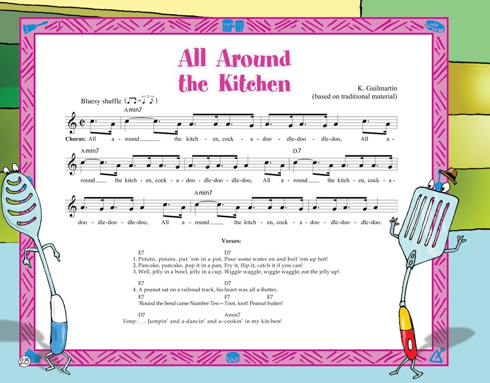 All Around the Kitchen (Music Together® Singalong Storybook ...
