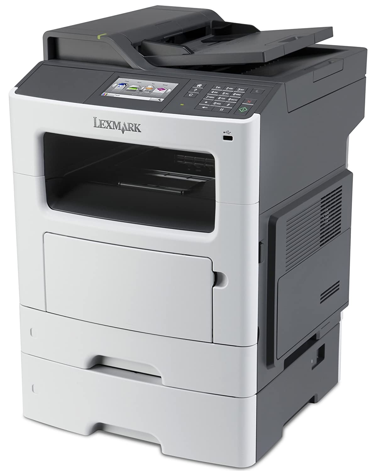 wedding card printing malaysiprice%0A Amazon com  Lexmark MX   dn Compact AllIn One Monochrome Laser Printer   Network Ready  Scan  Copy  Duplex Printing and Professional Features   Electronics