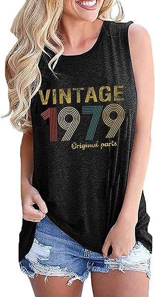 Amazon.com: Vintage 1979 Piezas Originales 40º Regalo de ...