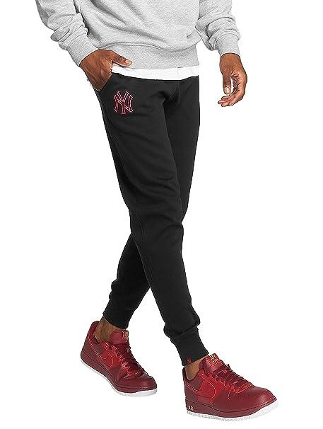 New Era Hombres Pantalones   Pantalón deportivo MLB Nights NY Yankees   Amazon.es  Ropa y accesorios 09fab2ae909