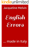 English Errors: ... made in Italy (English Edition)