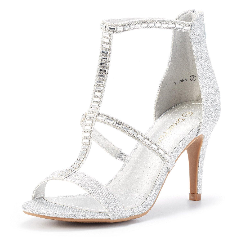 c35eba81528f DREAM PAIRS Women s Dolce Fashion Stilettos Open Toe Pump Heel Sandals  product image