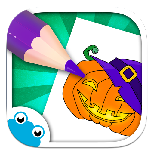 [Chocolapps Art Studio - Drawings and coloring pictures for kids] (Kids Halloween Coloring Pictures)