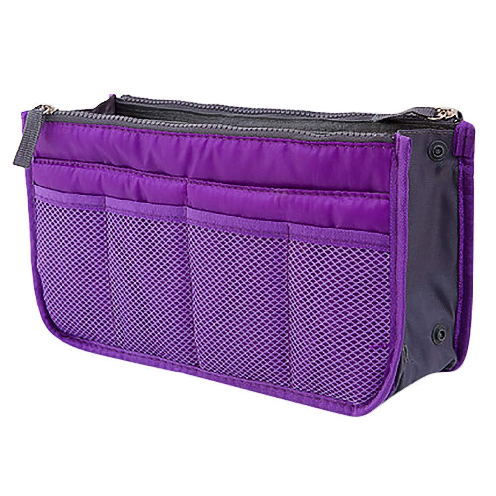 Futemo for Insert Handbag Organiser Purse Liner Organizer Women Storage Bag Tidy Travel