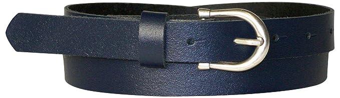 Fronhofer Fine ceinture pour femme de 2,5 cm avec une boucle en fer ... 372e5975834