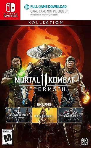Amazon Com Mortal Kombat 11 Aftermath Kollection Nintendo