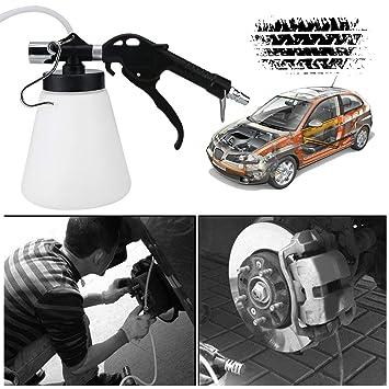 87-174psi Presión de aire 0.75L Freno de aire Juego de purga Neumático Freno de embrague Vacío Líquido hidráulico Kit de botella de llenado Accesorio: ...