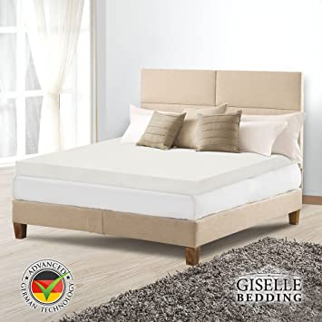 Popular Mattress Topper Giselle Bedding Queen Size 8CM Thick High Density Memory Foam Mattress Topper with Removal For Your Plan - Cool best memory foam bed Simple