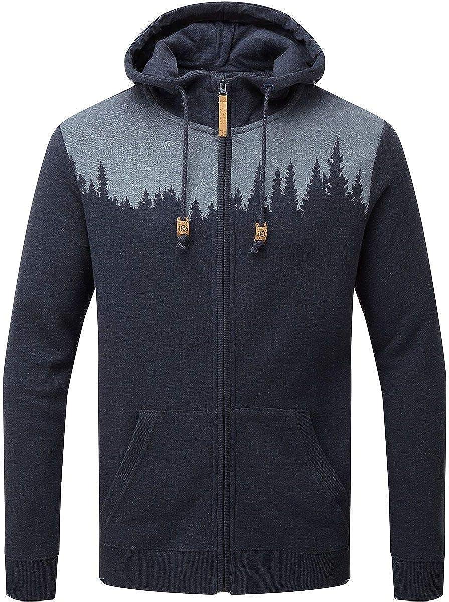 Ten Tree Herren Juniper Zip Hoodie Pullover Sweatshirt Kapuzenpullover