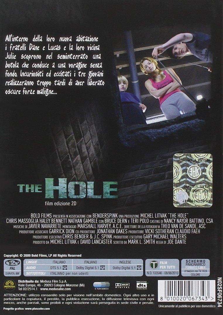 Amazon.com: The Hole (2009) (2D) [Italian Edition]: haley bennett, nathan gamble, joe dante: Movies & TV