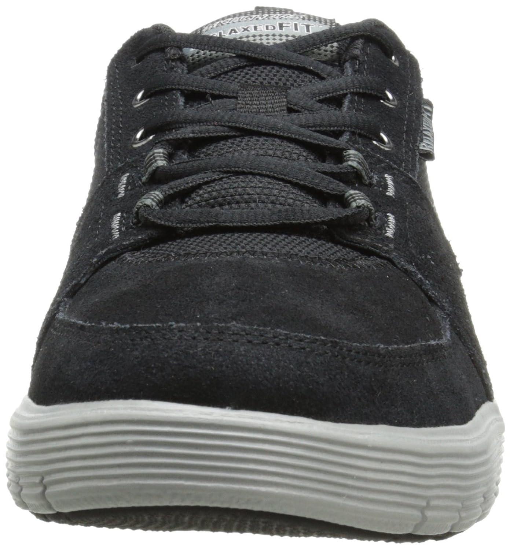 Amazon.com | Skechers Sport Men's Arcade II Next Move Oxford, Black/Gray, 9  M US | Fashion Sneakers