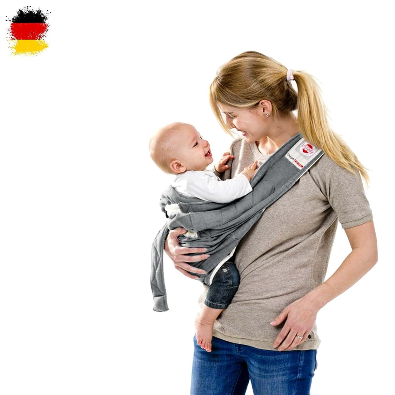 Babysling sowie Transportdecke f/ür Babys und Eltern ab Geburt bis 18 Monate max. 12kg Babytragetuch Lodger Shelter 2.0-3in1 Babytrage