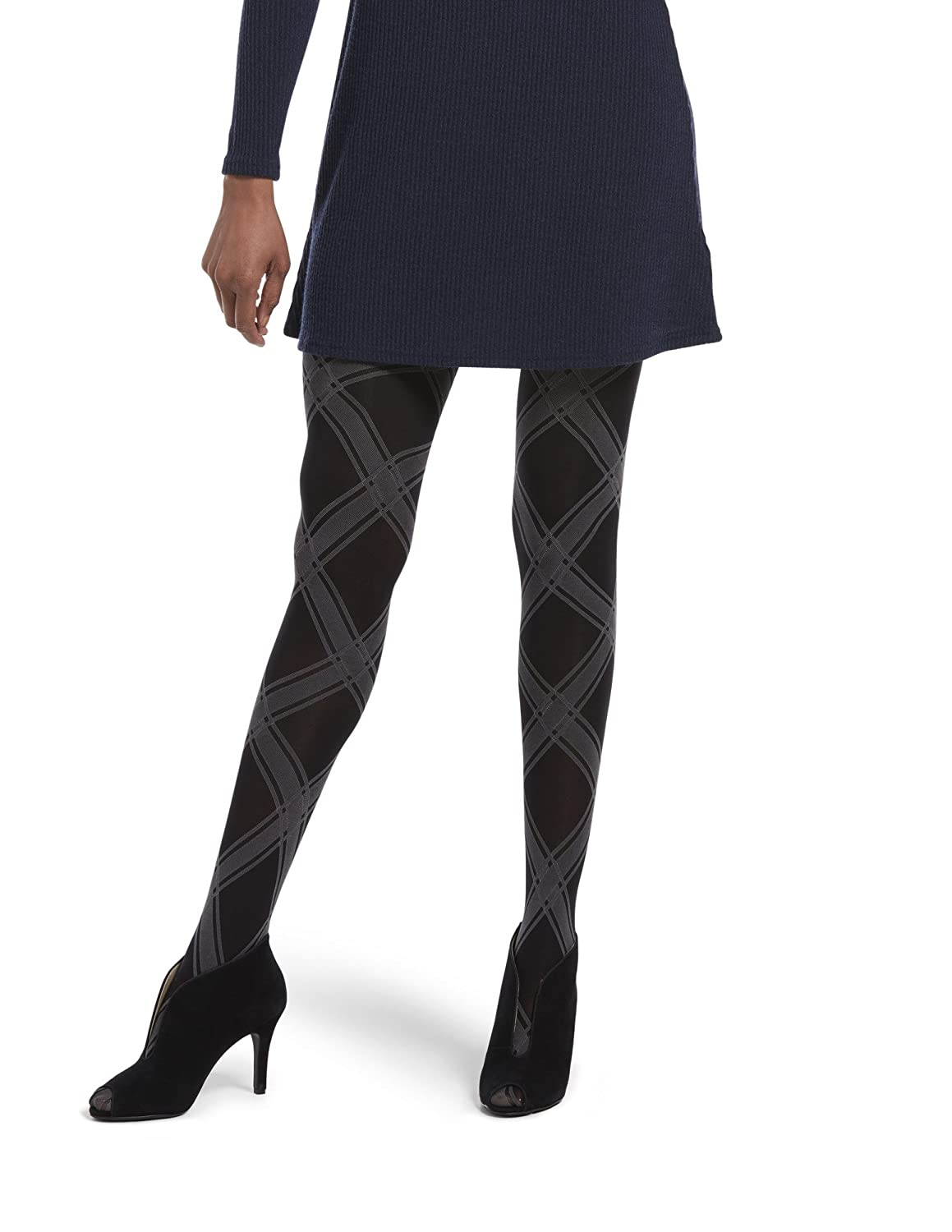 HUE Women's Made to Move Shaping Tights, Assorted